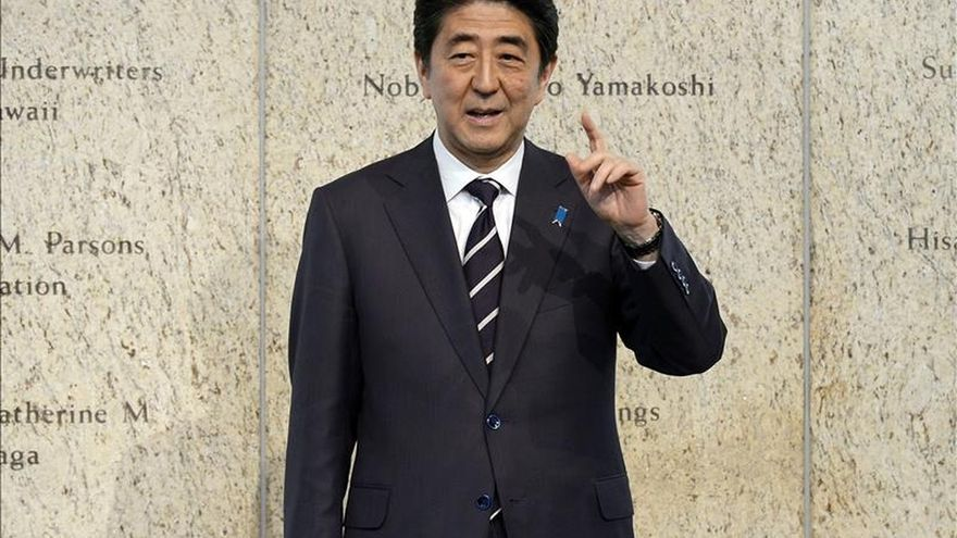 Abe viajará a Ucrania en junio para apoyar una solución pacífica a la crisis
