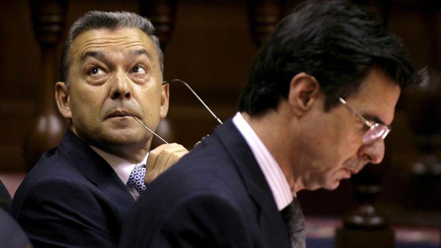 Paulino Rivero y José Manuel Soria.