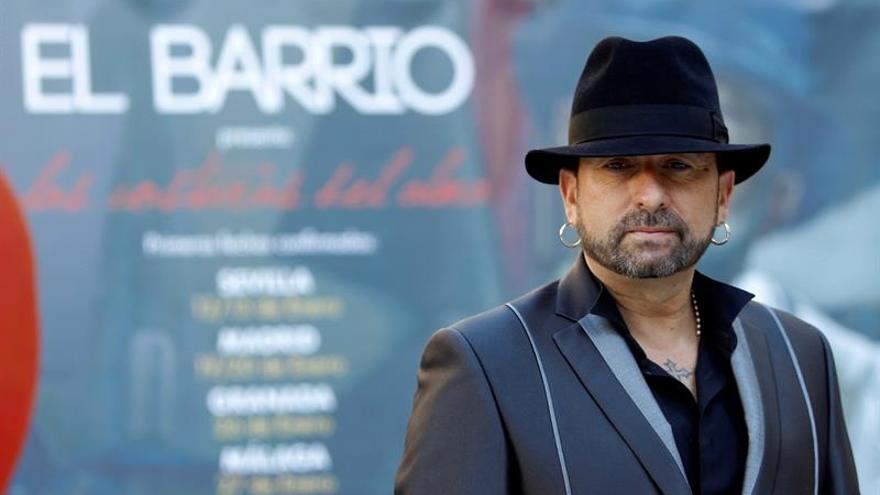 """El Barrio: """"Me gustaría acabar mi carrera como empezó, de guitarrista"""""""