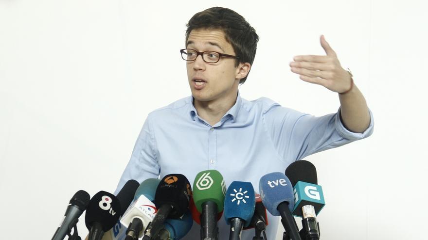 Iñigo Errejón participa este domingo en Valencia en el cierre de campaña de la candidatura autonómica Claro que Podemos