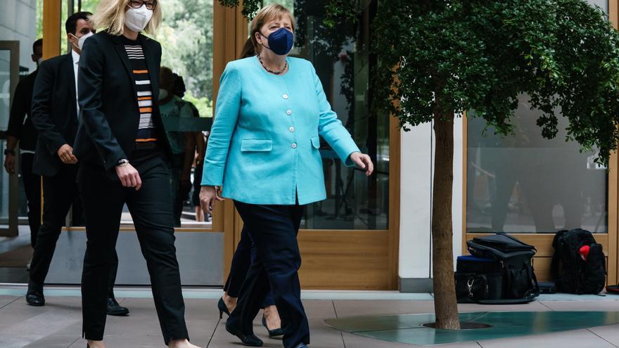 """Merkel admite que el acuerdo sobre Nord Stream """"no soluciona todo"""""""