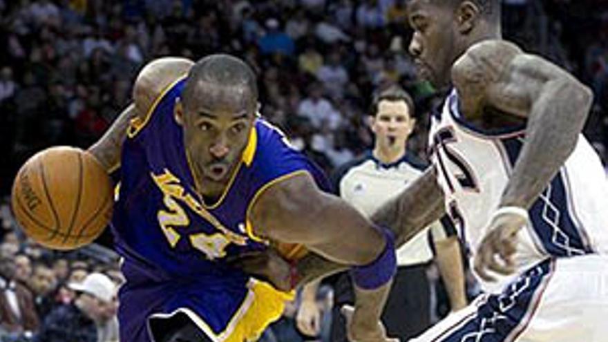Victoria de Los Lakers. (EUROPA PRESS)