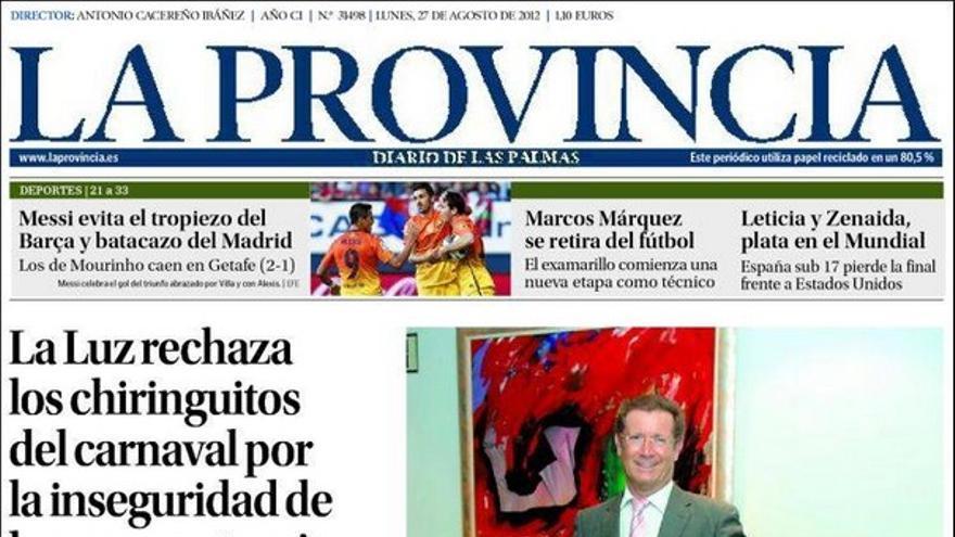 De las portadas del día (27/08/2012) #4