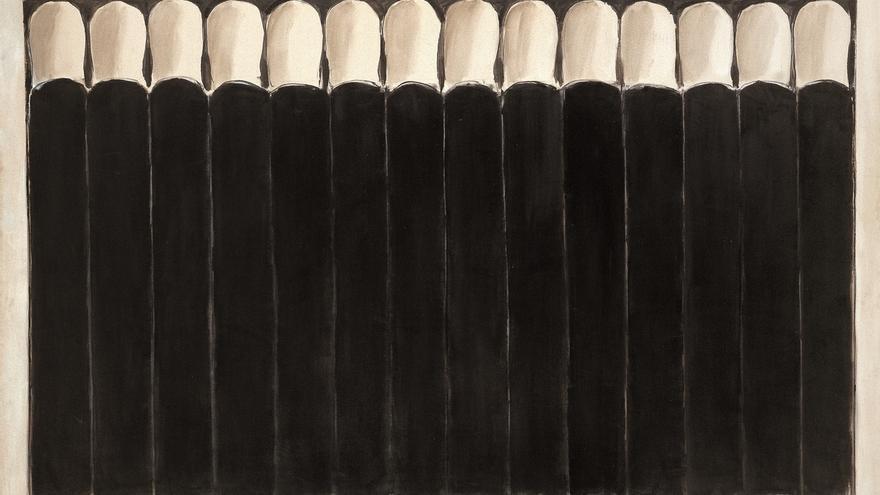 El Museo de Bellas Artes de Bilbao expone hasta septiembre 'Intervalos negros' de José Guerrero