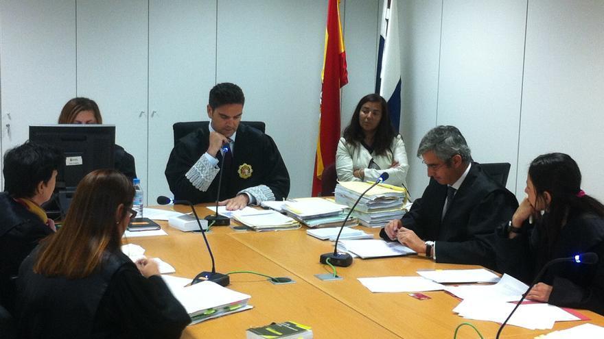 Segunda audiencia previa vista en el juzgado de lo Mercantil 1 de Las Palmas de Gran Canaria.