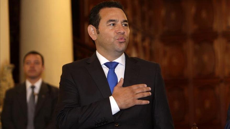 """El comediante Jimmy Morales cierra su campaña con una promesa de """"cambio"""" en Guatemala"""