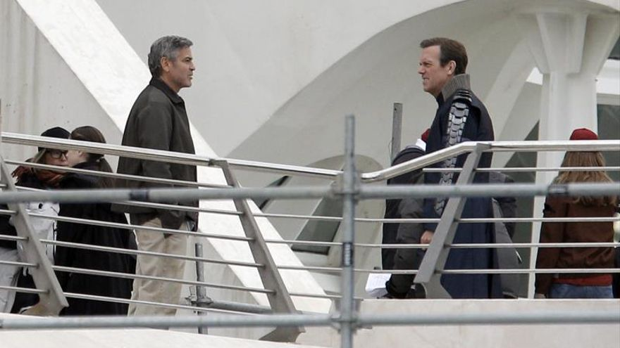 George Clooney ya rueda en Valencia