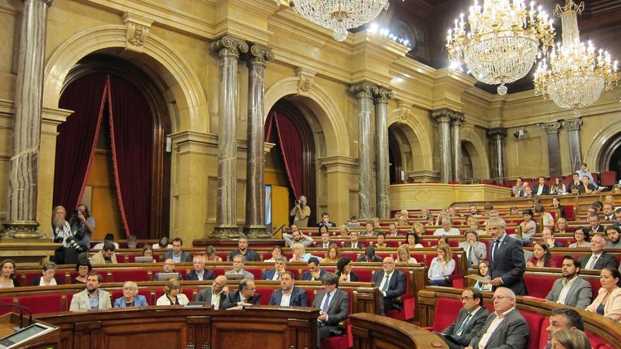 El Boletín Oficial del Parlament publica la ley de transitoriedad tras aprobarla el pleno