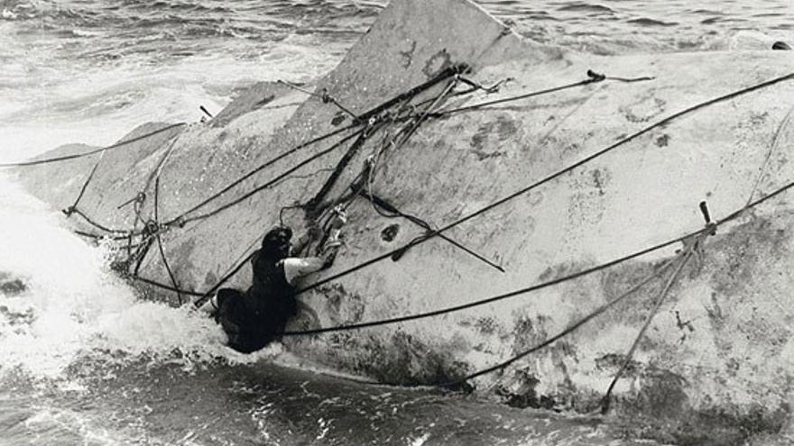 Fotograma de la película Moby Dick de 1956. (Youtube)
