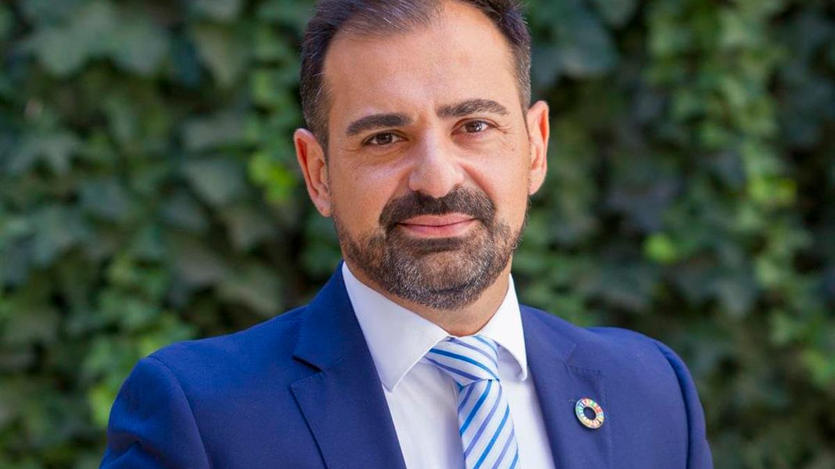 El portavoz del PP en la Diputación, Félix Romero.