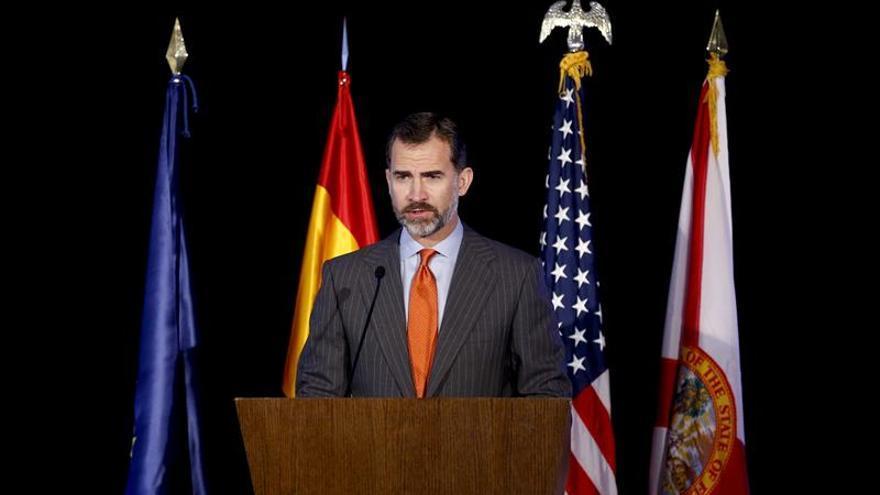El Príncipe de Asturias ve un futuro esperanzador para la economía española