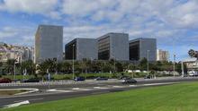 Edificios de la Ciudad de la Justicia de Las Palmas de Gran Canaria.