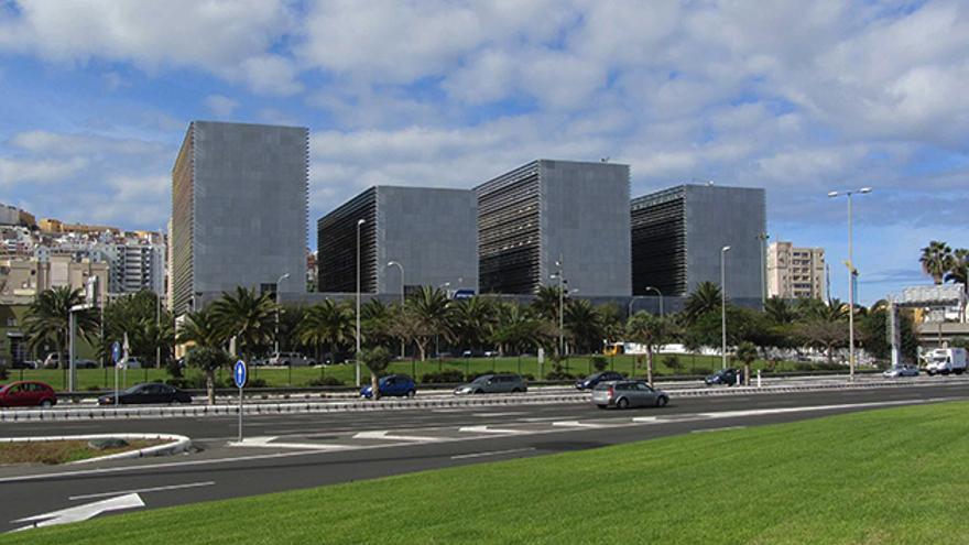 Edificios de la nueva Ciudad de la Justicia de Las Palmas de Gran Canaria
