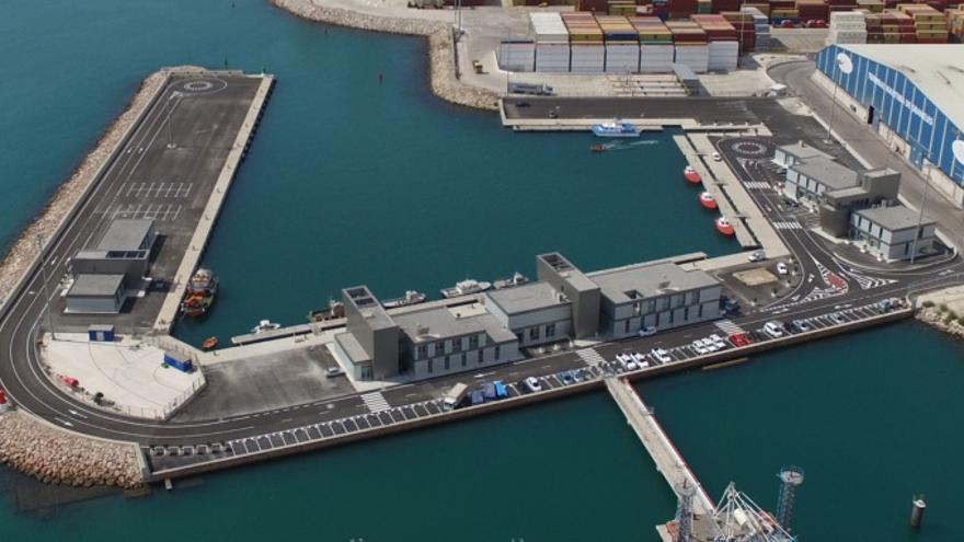 Obras de abrigo para la Ampliación del Puerto de Valencia