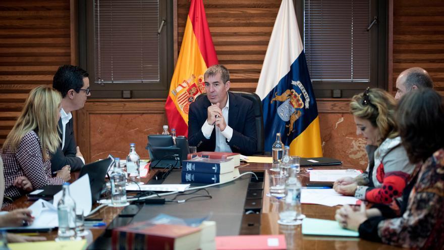 Imagen del Consejo de Gobierno celebrada este miércoles.