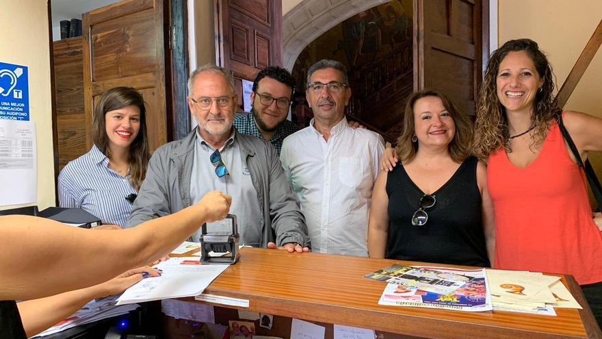 El Grupo Socialista del Ayuntamiento de Santa Cruz de La Palma.