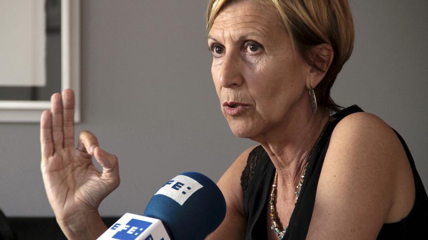 Rosa Díez confía en que el fiscal sea coherente y recurra la libertad de Bolinaga
