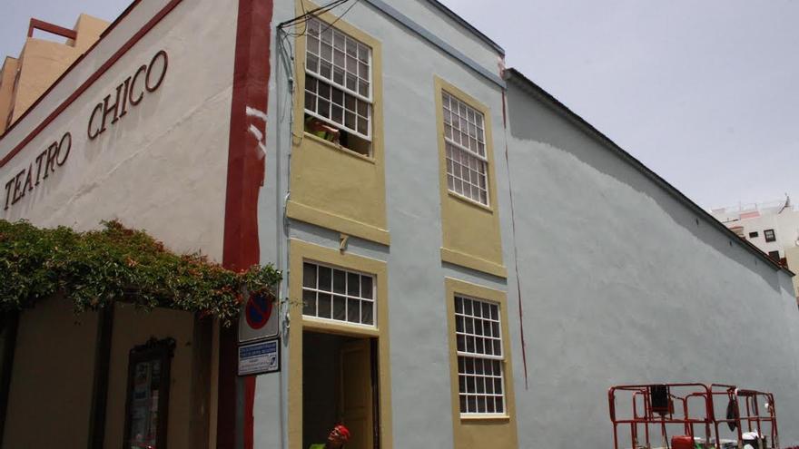 En la imagen,  edificio del Teatro Chico.