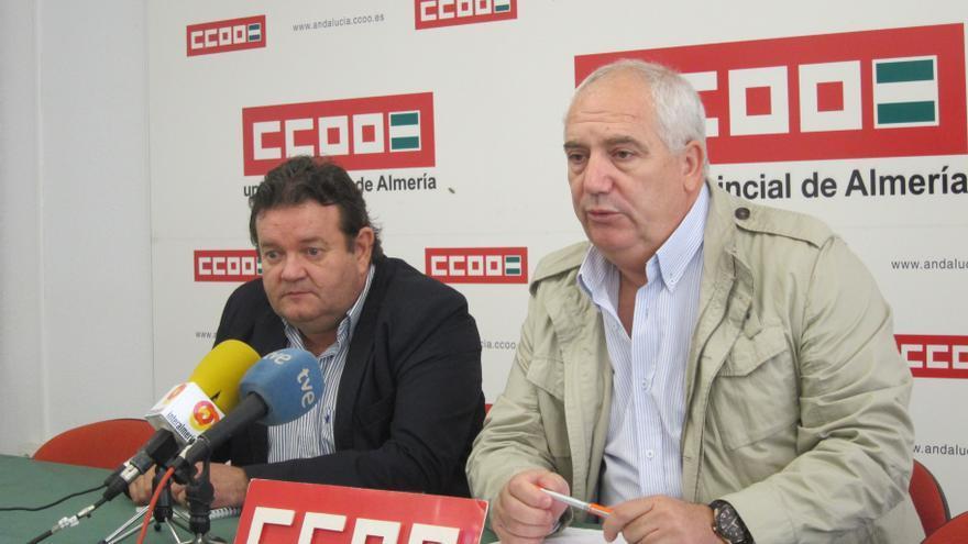 """Secretario general de CCOO-A defiende que la intervención del sindicato en el caso ERE es """"tangencial"""""""