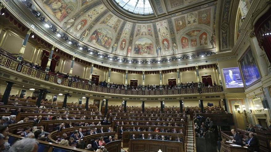 El Congreso de los Diputados. / Efe
