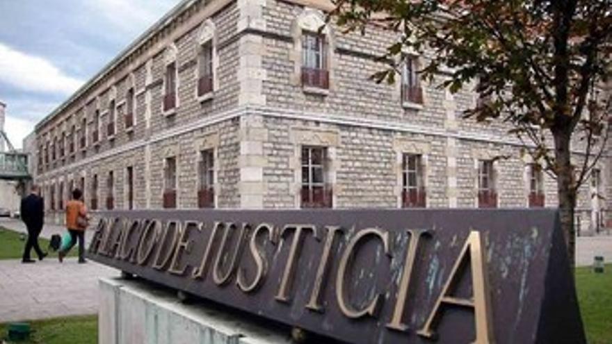 Las Salesas, Palacio de Justicia de Santander. | CCOO