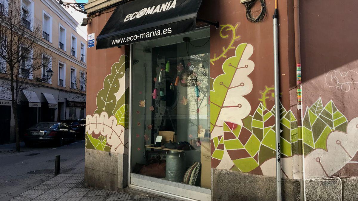 Tienda de Ecomanía en la calle Belén | SOMOS CHUECA