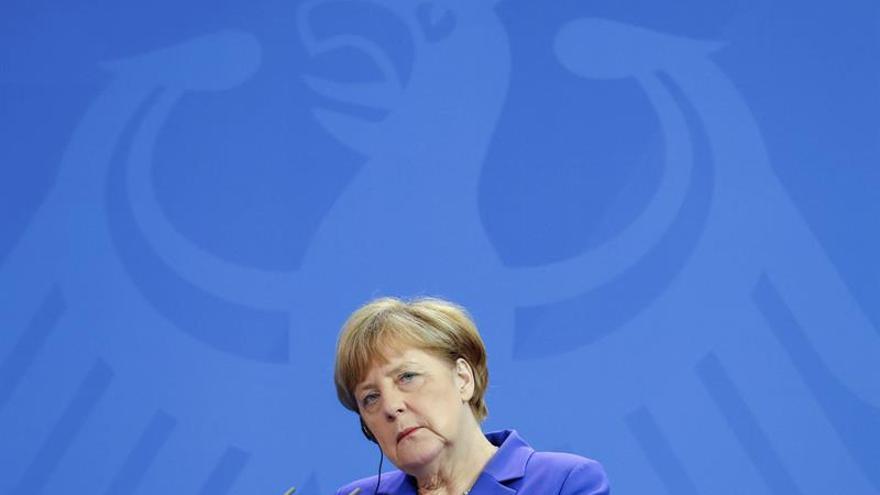 """Merkel afirma que el referéndum supone un """"punto de inflexión"""" para Europa"""