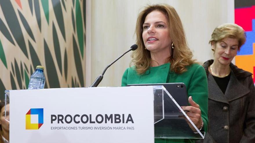En la imagen, la presidenta de Procolombia, Flavia Santoro.