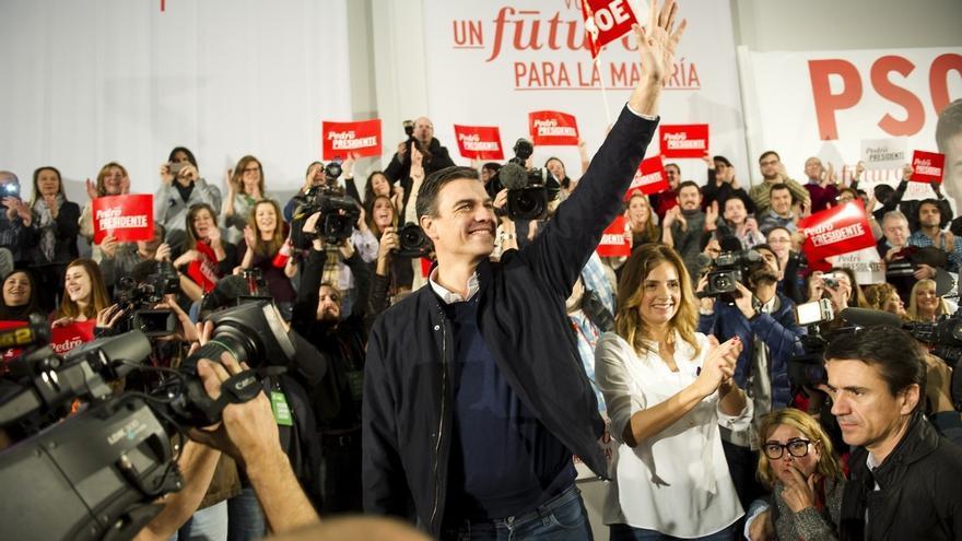 """Sánchez considera que C's dice """"claramente"""" que apoyará al PP en el proceso de investidura con su abstención"""