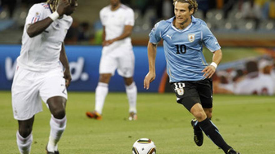 Uruguay y Francia empatan