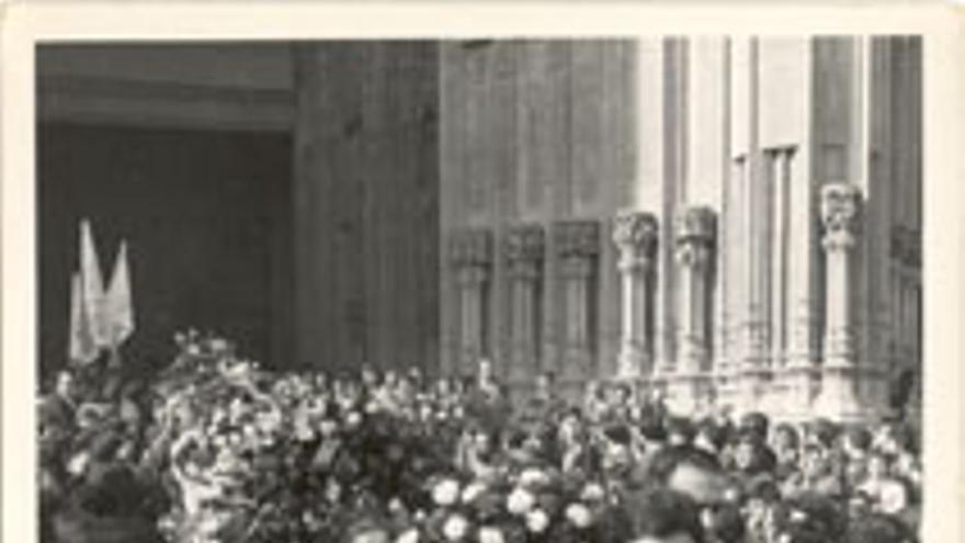 Funeral por las víctimas del 3 de marzo.