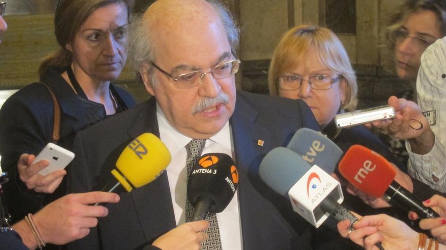 Mas-Colell aplicaría una gestión tributaria con los tipos más bajos de España si se la transfirieran