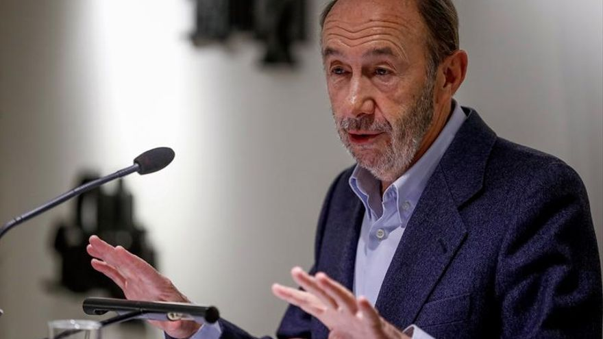 Rubalcaba rechaza oferta de Sánchez de ser candidato a la alcaldía de Madrid