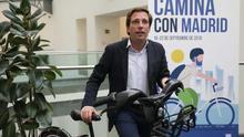 El Ayuntamiento de Madrid empieza a desmontar los carriles bici de Carmena
