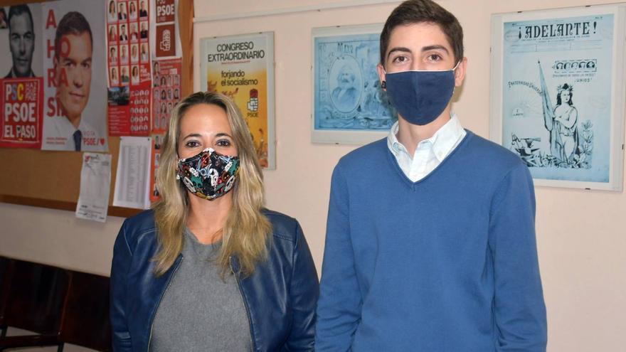 Susana Machín analiza con Juventudes Socialistas los retos de la educación pública en La Palma