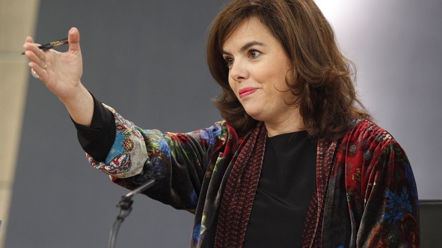 """Sáenz de Santamaría defiende que en la retirada a Andalucía de 265 millones se cumple la ley y niega """"discriminación"""""""