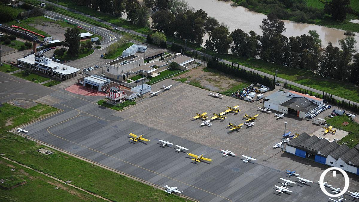 Imagen aérea del Aeropuerto