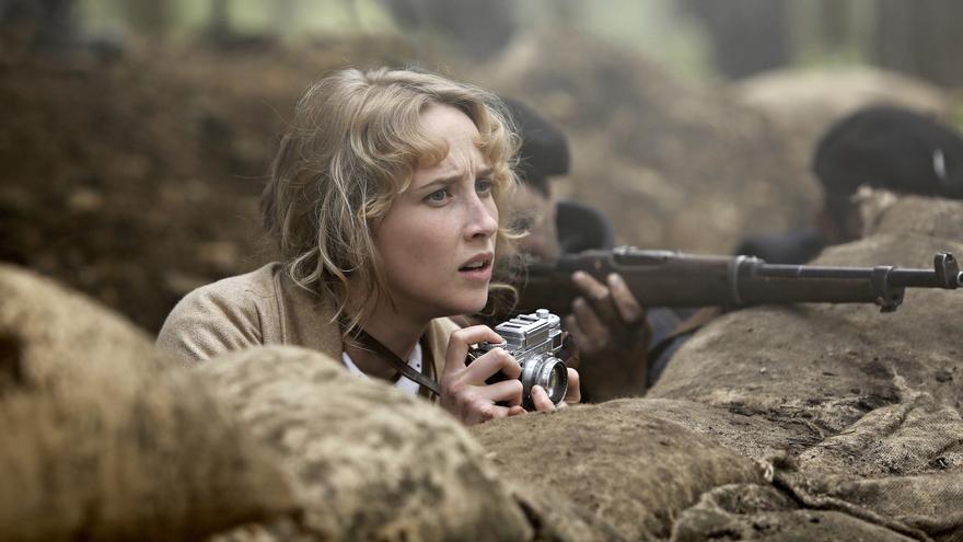 Ingrid Garcia-Jonsson en la película Gernika
