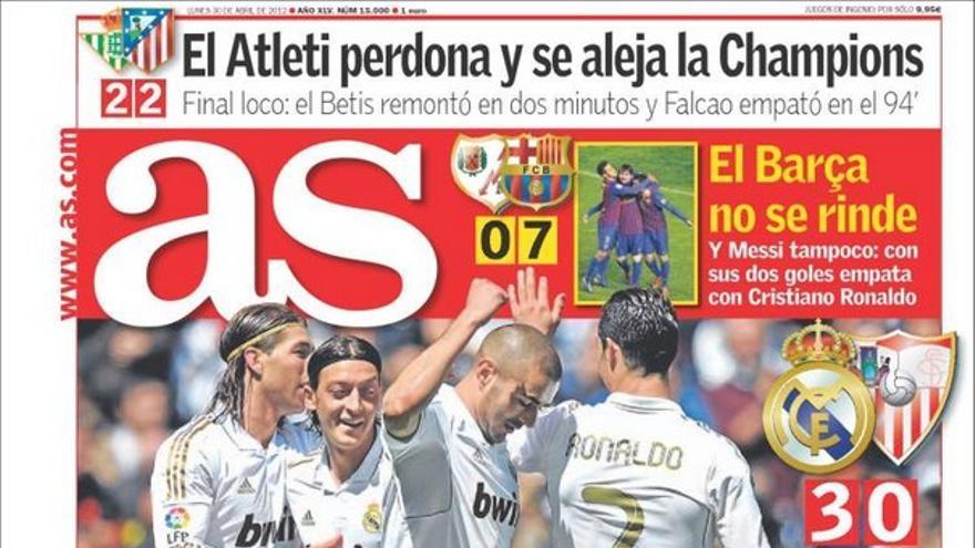 De las portadas del día (30/04/2012) #12