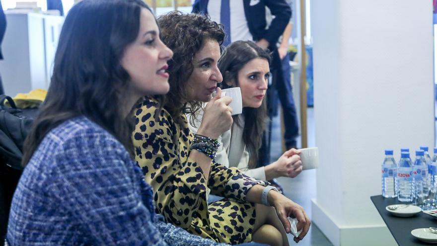 Álvarez de Toledo, María Jesús Montero, Irene Montero, Arrimadas, Rufián y Esteban debaten en RTVE