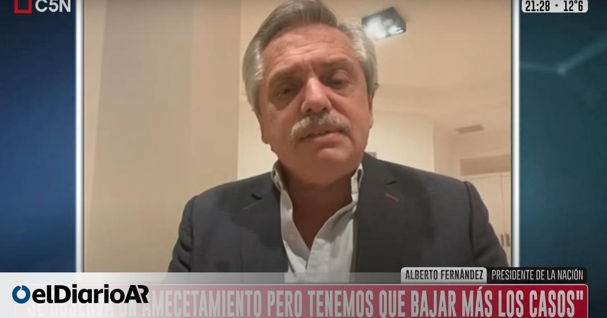 Image Alberto Fernández aseguró que si no sale la ley de emergencia Covid, habrá un nuevo DNU