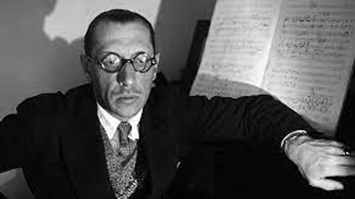 Igor Stravinsky murió hace 50 años en Nueva York.