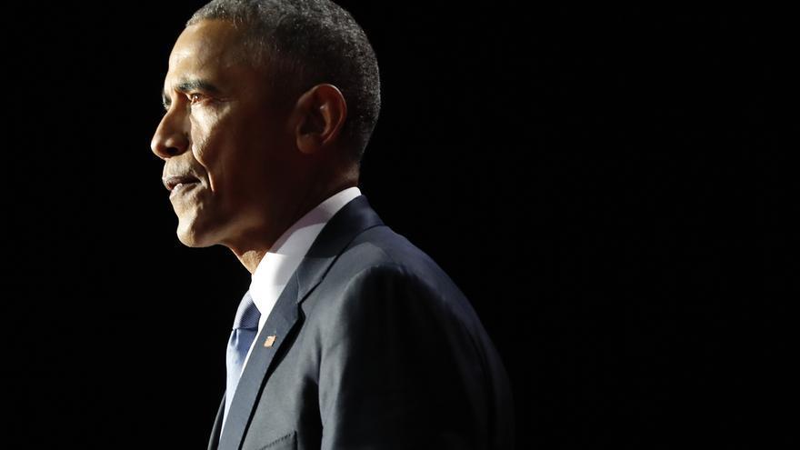 El presidente Obama durante su discurso de despedida en Chicago AP Photo/Pablo Martinez Monsivais