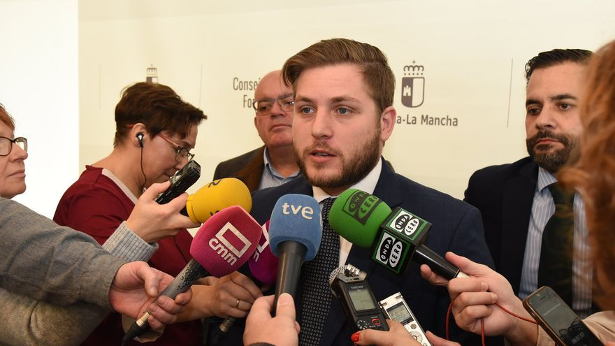 El consejero de Fomento, Nacho Hernando