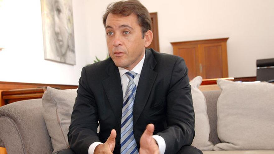 José Manuel Bermúdez, alcalde y candidato de CC a la reeleción.