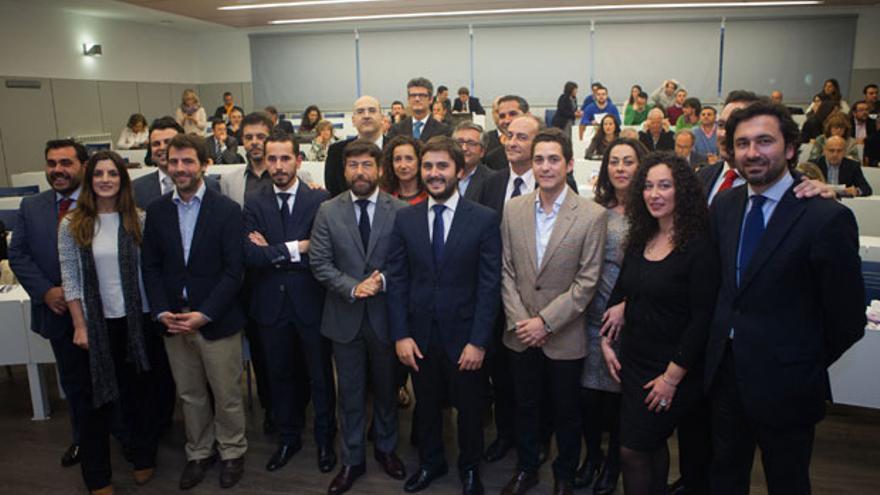 Los participantes en el acto de graduación del I Founder Institute Andalucía en Loyola Córdoba.