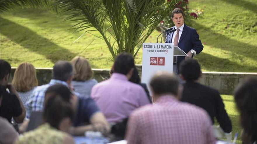 """García-Page cree que """"Podemos y Ciudadanos hacen mal ejercicio de renovación política"""""""