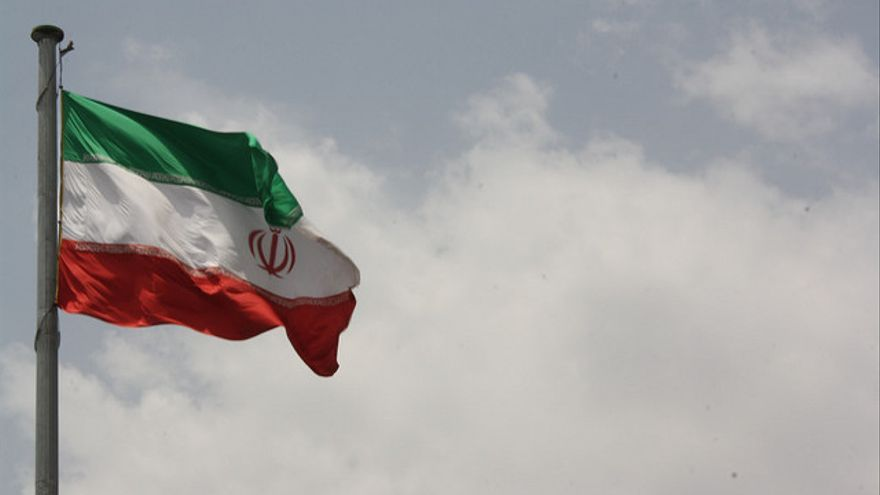 Una bandera de Irán
