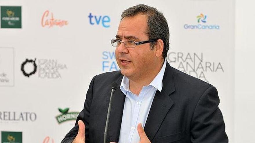 Juan Domínguez, vicepresidente del Cabildo de Gran Canaria. (ACFI PRESS)