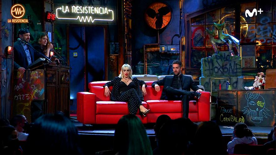 Lali Espósito puso patas arriba 'La Resistencia' con su regalo a Broncano